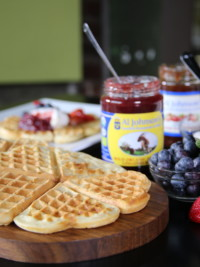 And In The Morning? We're Making Waffles.