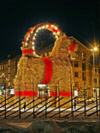 The Gävle Goat Is Coming…
