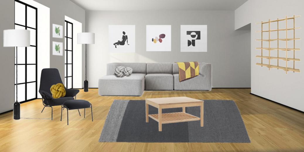 Decorating A Dream Scandinavian Living Room