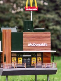 In The News: World's Smallest McDonald's Opens – For Bees – In Sweden