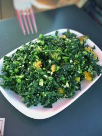 Swe-Dishes: Kale Salad With Toasted Hazelnuts