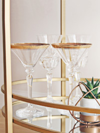 Stocking Up Your Swedish Bar Cart