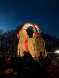 Gävle Goat Survives Holiday Season Again