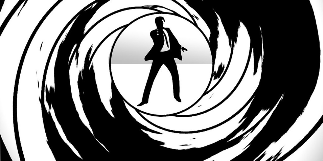 James Bond opening