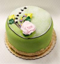 6 inch green marzipan signature cake, princess torte (3)2