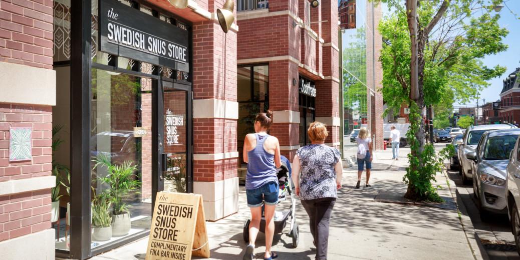 Swedish Match Swedish Snus Store, storefront