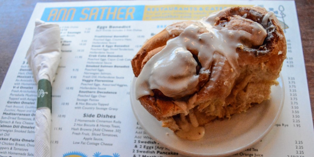 Ann Sather - famous cinnamon rolls