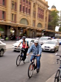 An uphill battle: Bikes vs. Cars