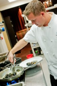 Patrik Landberg of Charcoal Restaurant