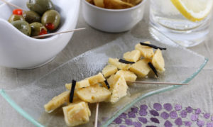 Swedish Appetizer - Brandy soaked cheese