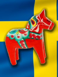 The Final Two Of The Ultimate Swedish Bracket: Dala Horse vs. Fika