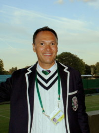 Out! Sweden's Mohamed Lahyani Is One Of Tennis' Top Umpires