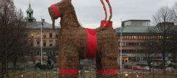The Gävle Goat Survives The Holidays