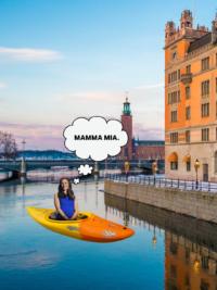 Jennifer Garner Recounts Kayaking Mishap in Sweden
