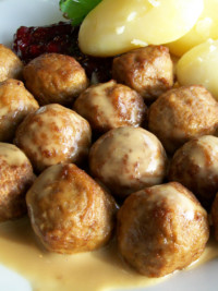SWE-Dishes: Marcus Samuelsson's Swedish Meatballs
