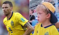 In The News: Marcus Berg's son captured hearts during World Cup match