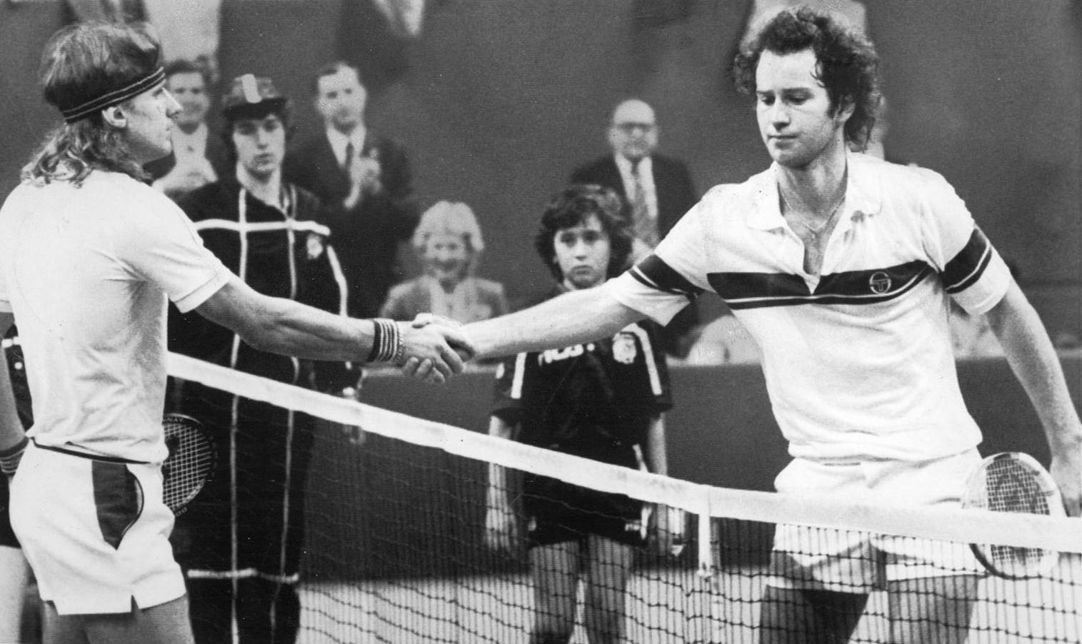 In the News About Tennis Legends Björn Borg vs John McEnroe