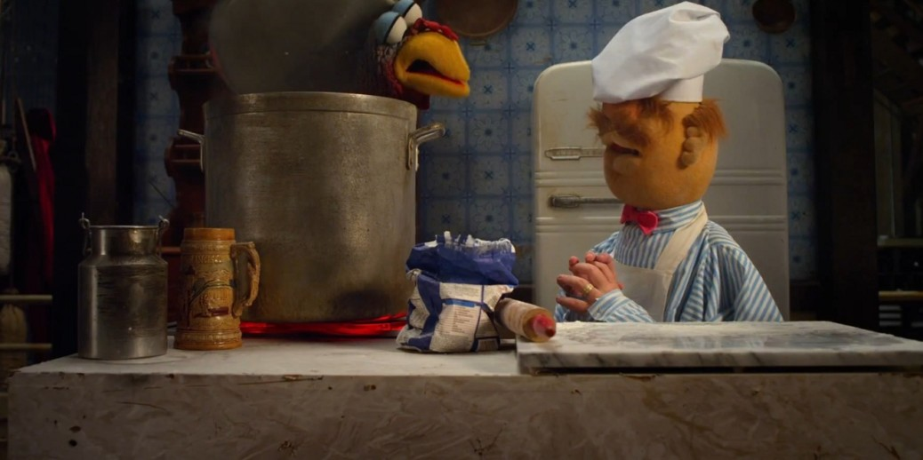 Swedish chef cooking in the kitchen