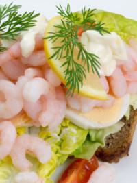 Swe-dishes: SwedishFood.com's Open Prawn Sandwich