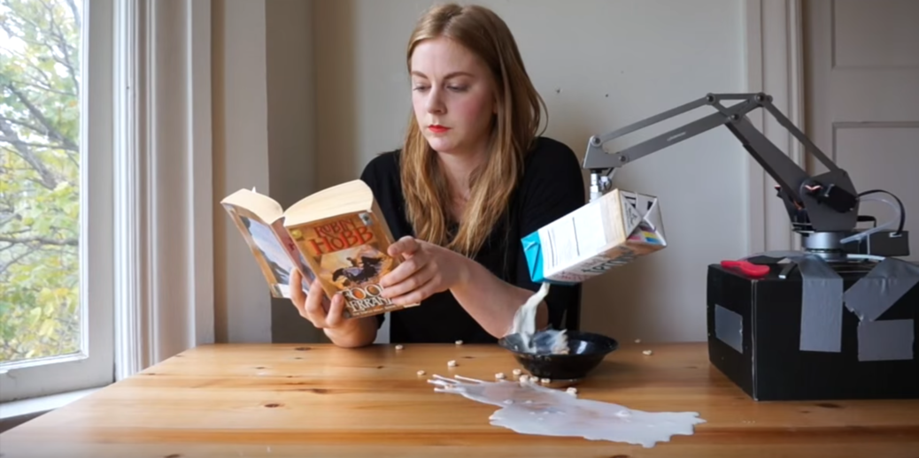 Simone Giertz The Breakfast Machine