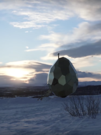 In The News: Giant Golden Egg Brings Town Residents Together