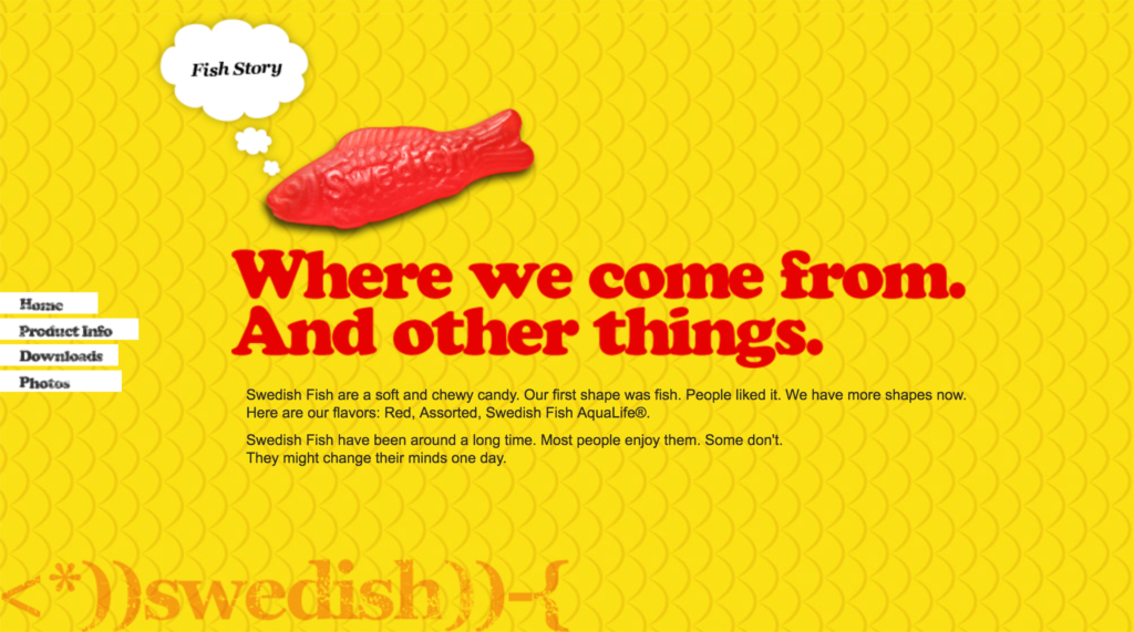 Are swedish fish actually swedish for Swedish fish shot