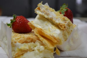 San Diego Swedish Bakery strawberry pastry