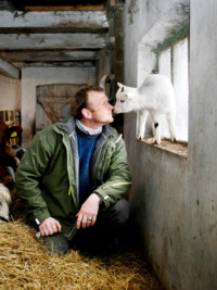 Goga? Goat Yoga Makes Its Way To Sweden