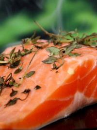Swe-dishes: Caroline Stureson's Salmon with Cheese (via SwedishFood.com)