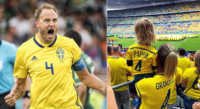 In The News: Sweden's Captain Welcomes Newborn The Day Before Quarter Finals