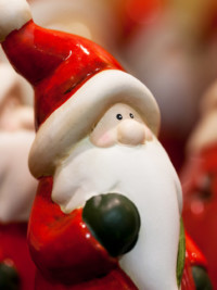 Say Hello to Santa at Santaworld