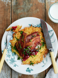 Swedish Freak's Potato Pancakes With Bacon