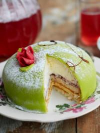 Swe-Dishes: SwedishFood.com's Princess Cake Recipe