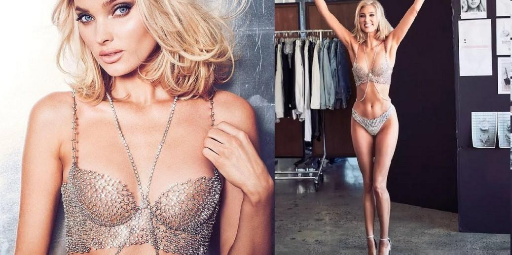 8807f7316c726 In The News: Swedish Model Elsa Hosk Is Living The Fantasy (Bra) Life