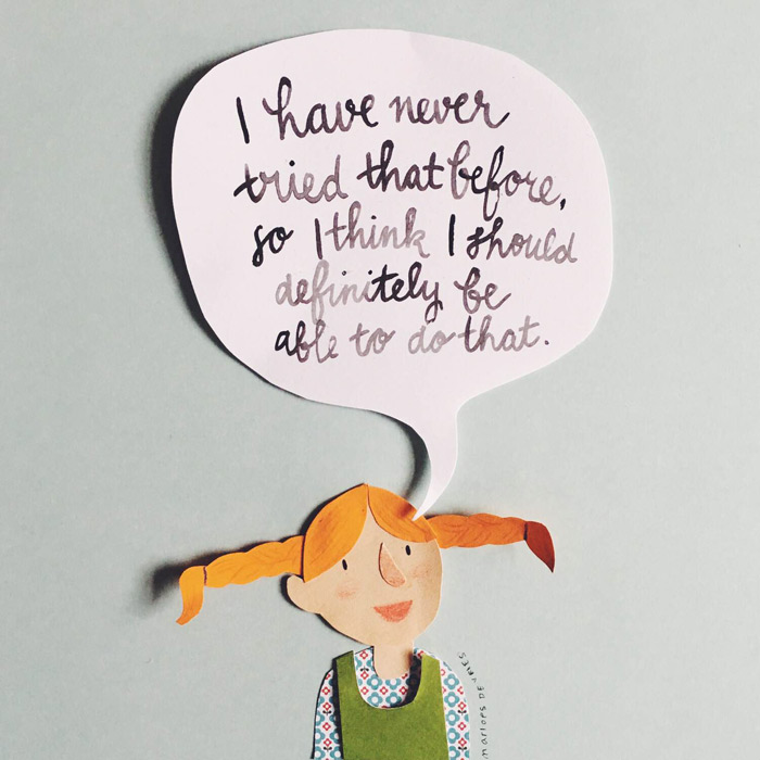 Pippi Longstocking quote