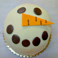 snowman-princess-cake