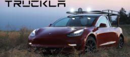 Swedish Innovator Turns Her Tesla Into A Truck